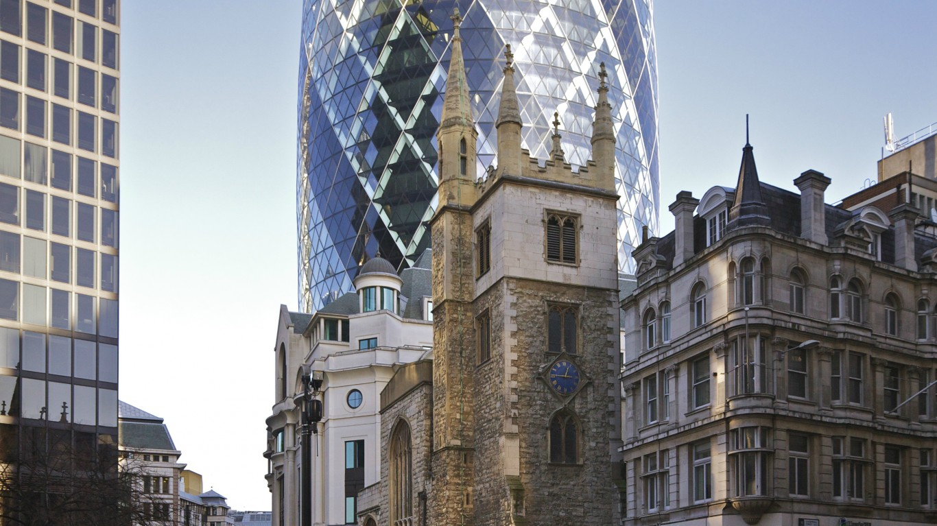 30 St Mary Axe from Leadenhall... by Aurelien Guichard from London, United Kingdom