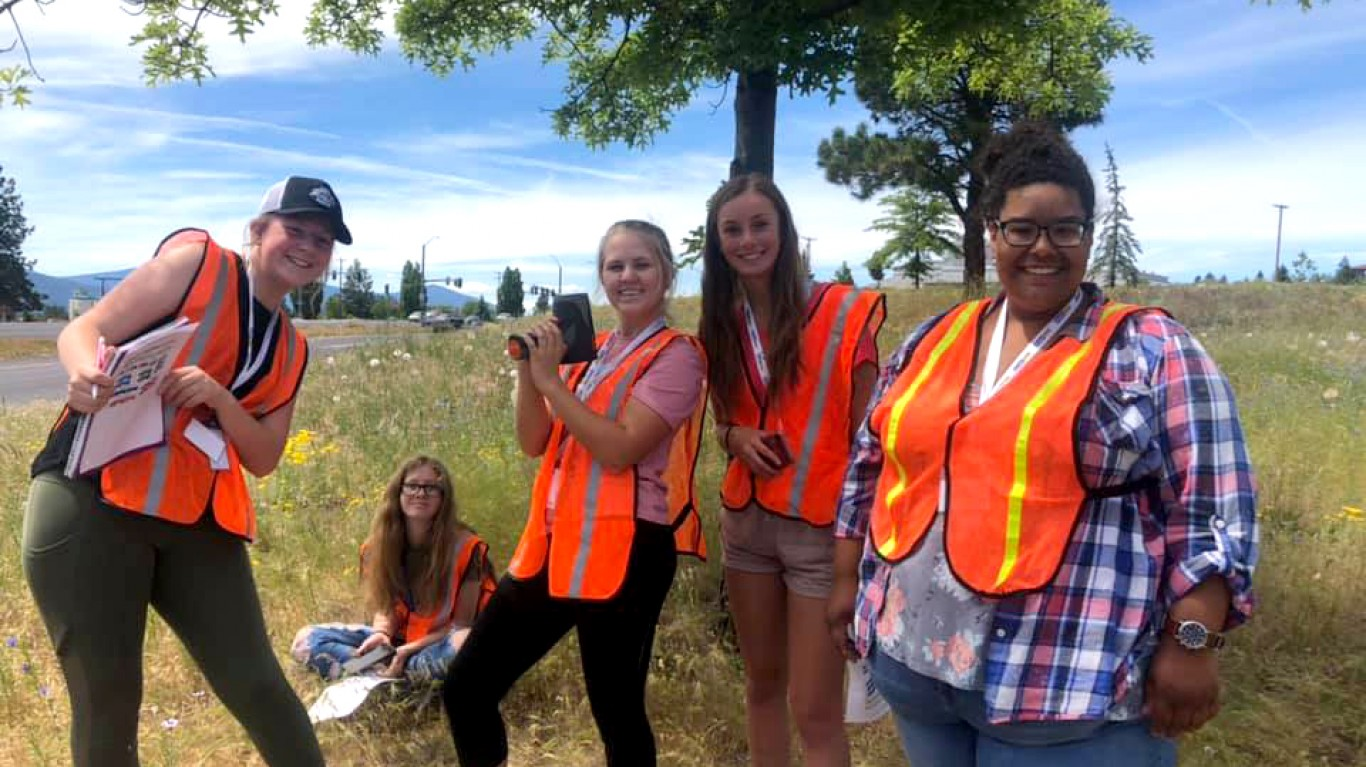 Camp Traffic by Oregon Department of Transportation