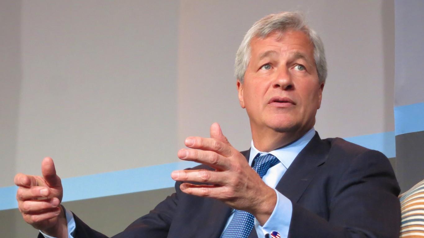 Jamie Dimon, CEO of JPMorgan ... by Steve Jurvetson