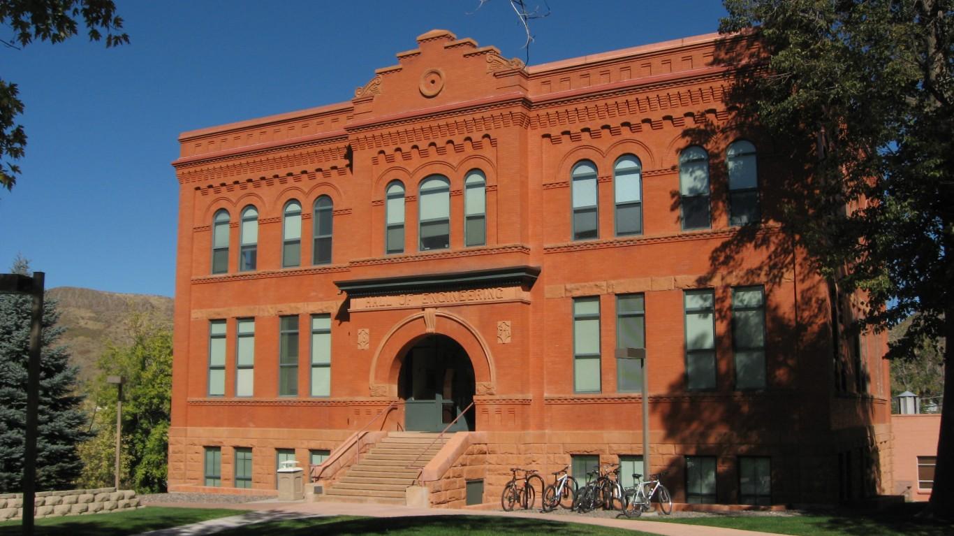 Colorado School of Mines, Gold... by Ken Lund
