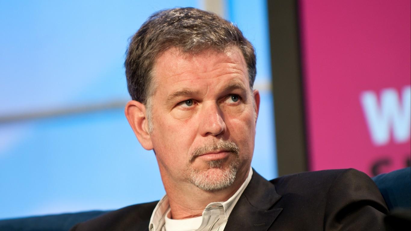 Reed Hastings by JD Lasica