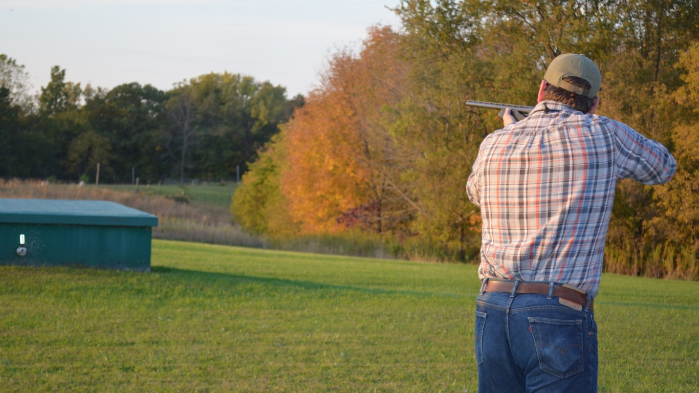 Trap Shooting by USFWS Midwest Region