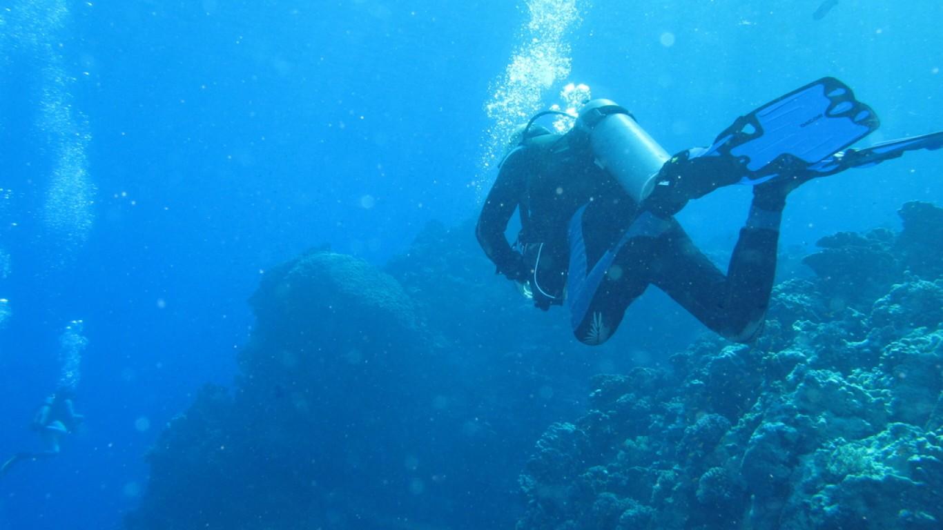 Diving by Derek Keats