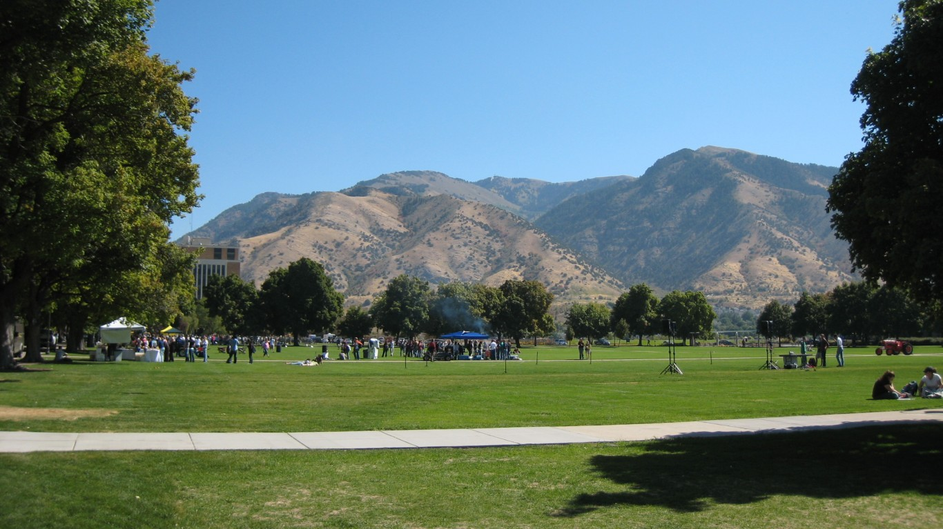 Utah State University campus by Garin Fons