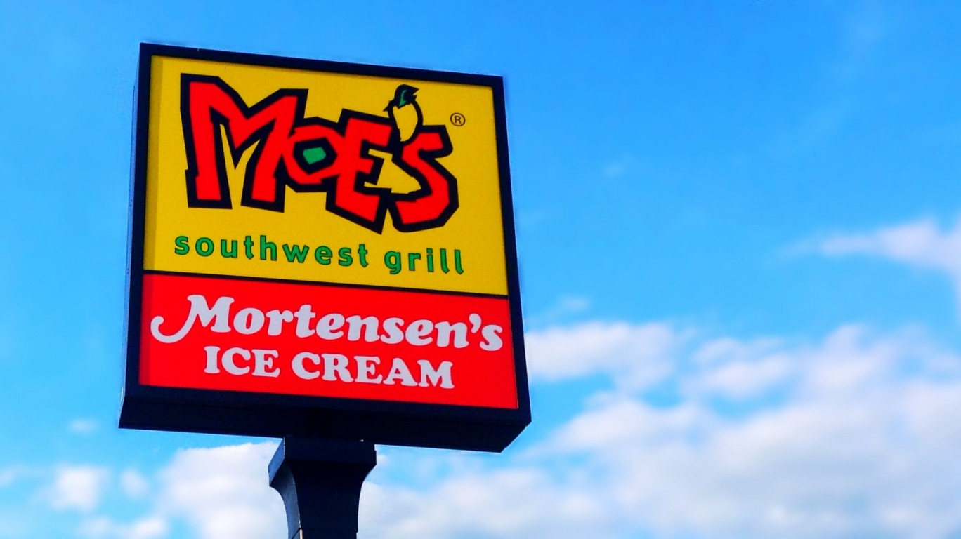 Moe's Southwest Grill by Mike Mozart