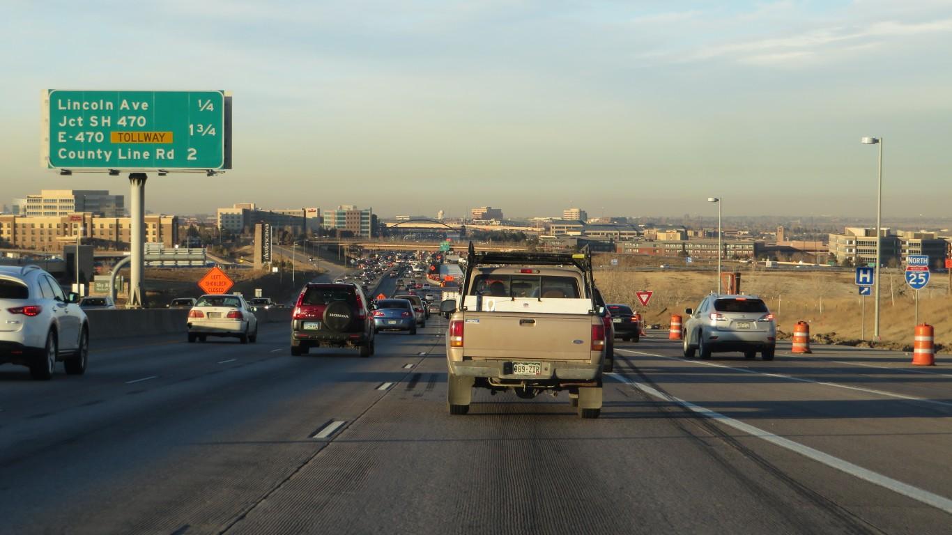 Interstate 25, Lone Tree, Colo... by Ken Lund
