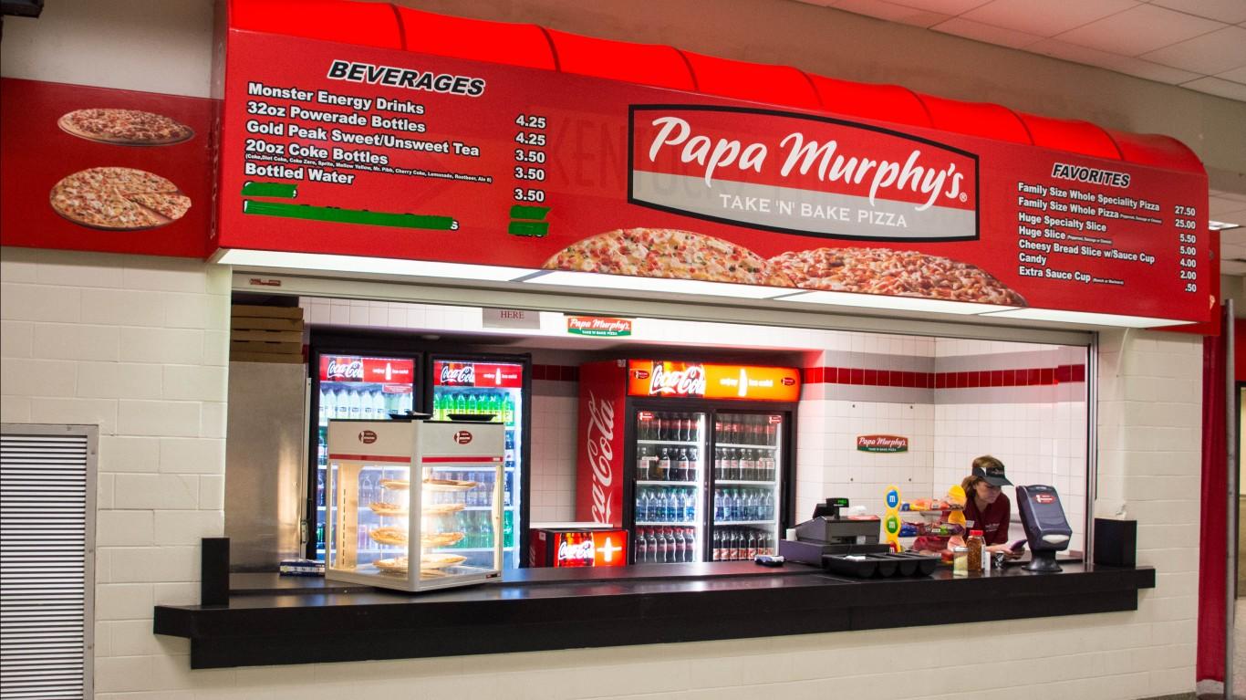Papa Murphy's stall by Mr. Blue MauMau