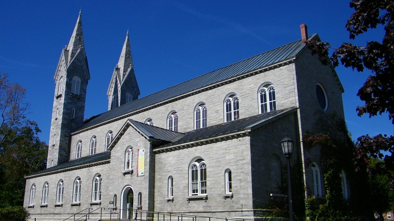 chapel bowdoin college 3 by Tim Engleman