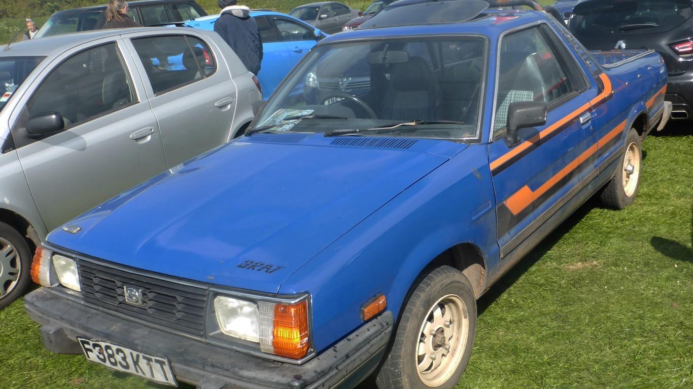 Subaru BRAT (1989) by Andrew Bone