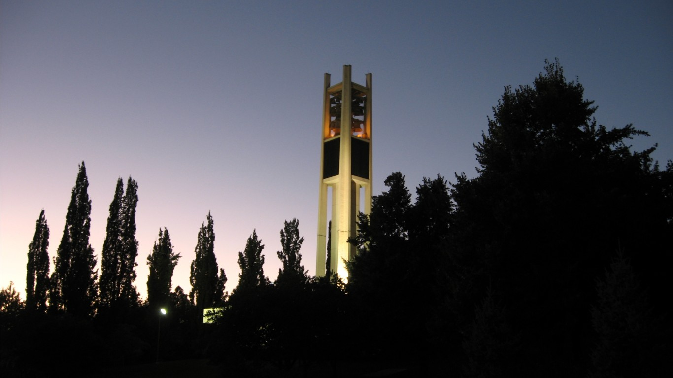 Carrillon Tower, Brigham Young... by Ken Lund