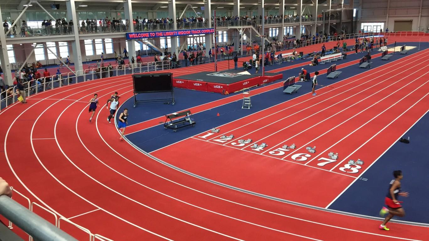 Liberty University track, Lync... by chucka_nc