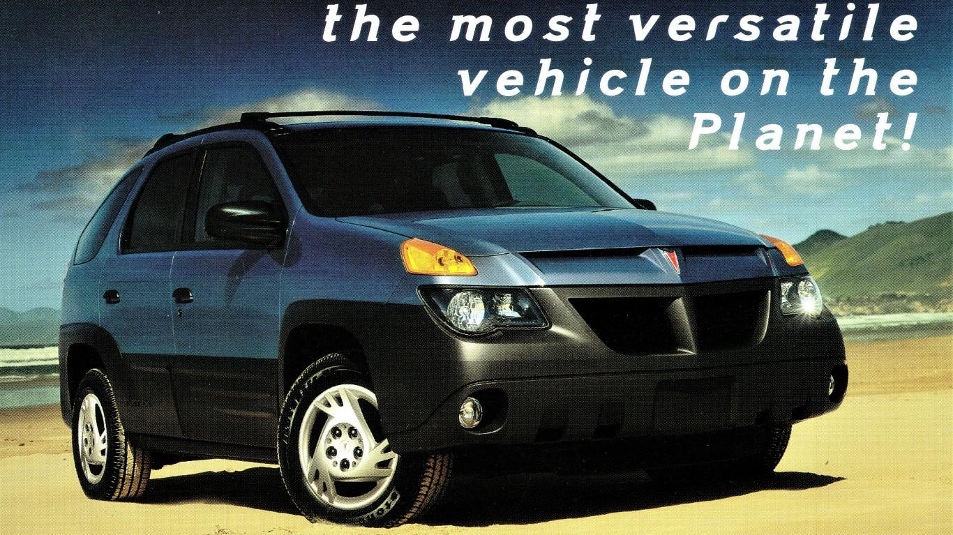 2001 Pontiac Aztek by Alden Jewell