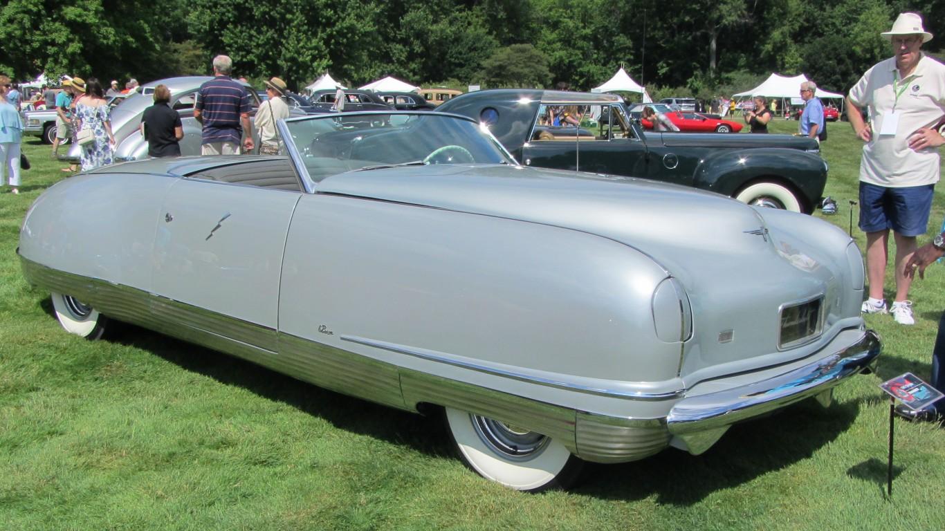 1941 Chrysler Thunderbolt Conc... by JOHN LLOYD