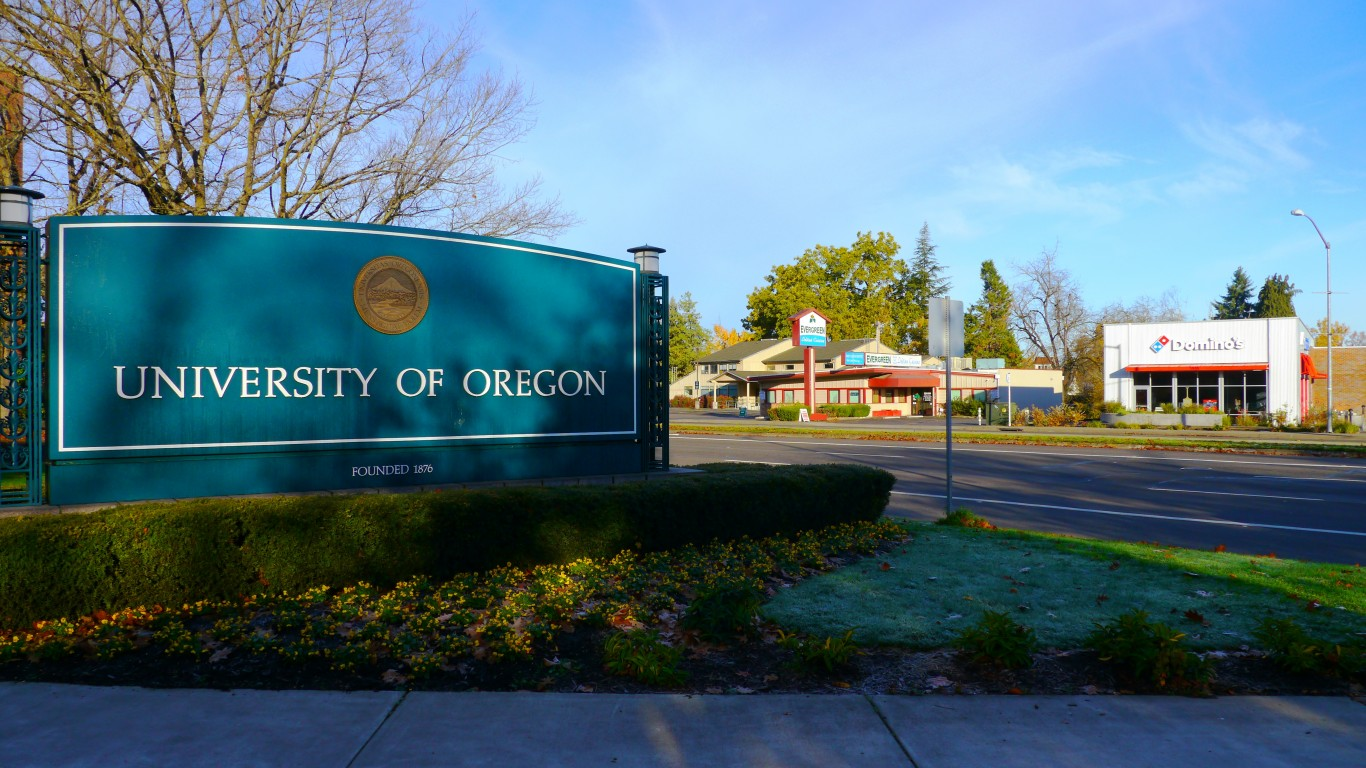 University of Oregon Sign and ... by Rick Obst