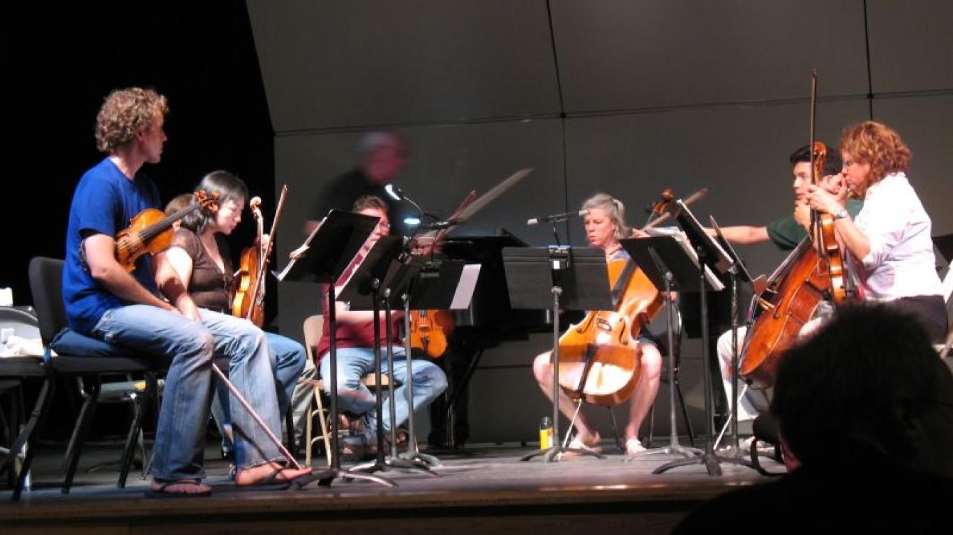 grand high school rehearsal 6 by Steven Damron