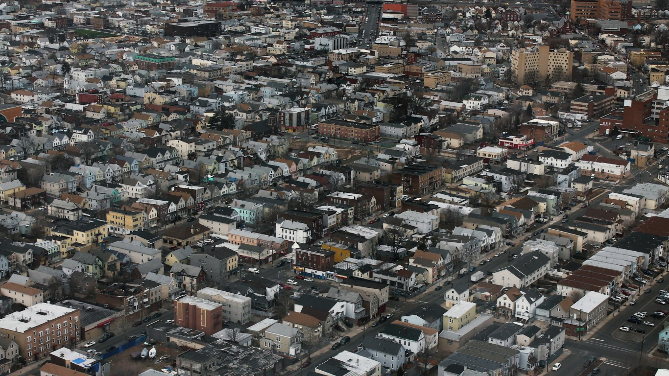 Elizabeth, New Jersey - Aerial... by formulanone