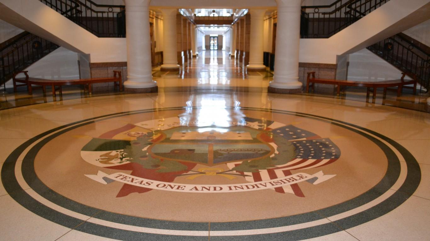 Reverse Seal Court, Texas Stat... by Steven Polunsky