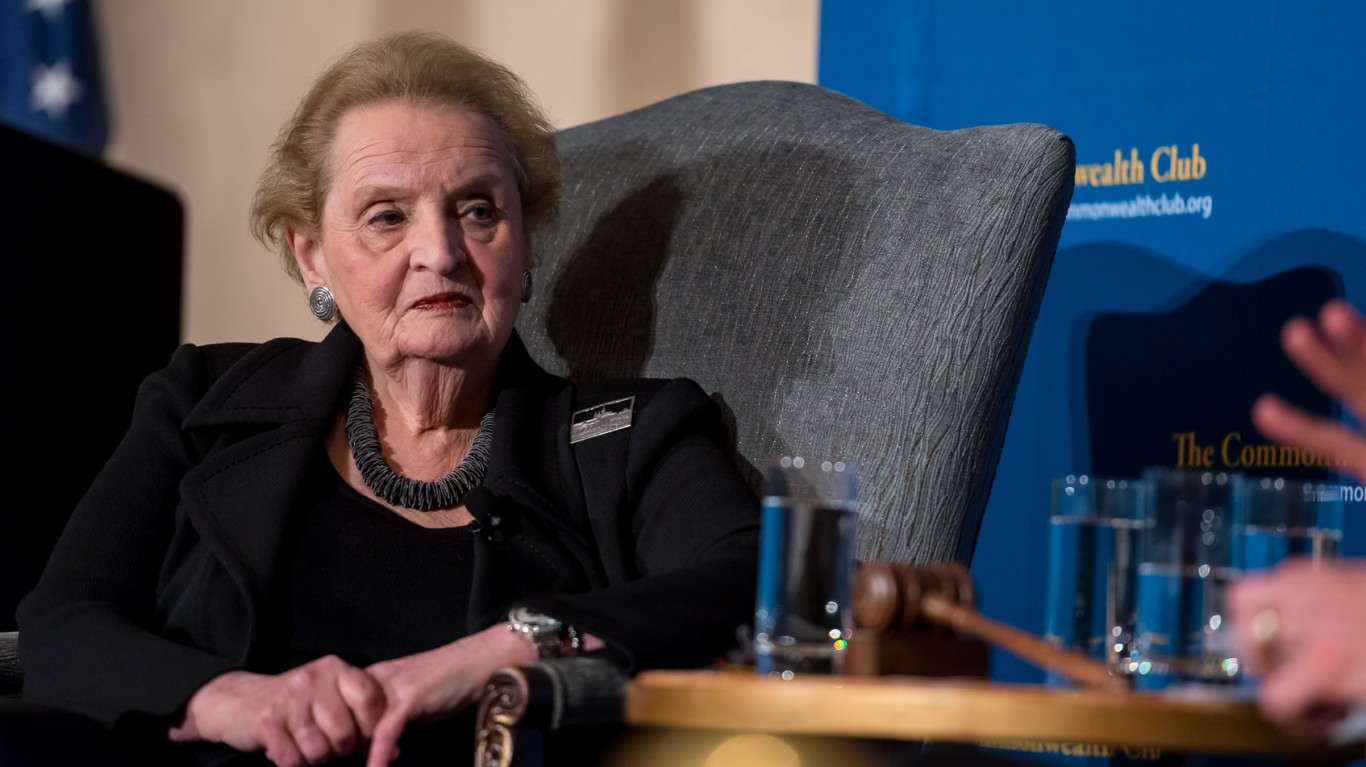 Madeleine Albright at Commonwe... by Commonwealth Club