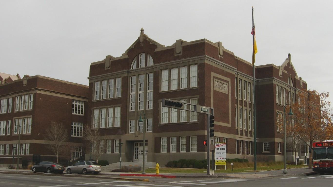 Old Albuquerque High School, A... by Ken Lund