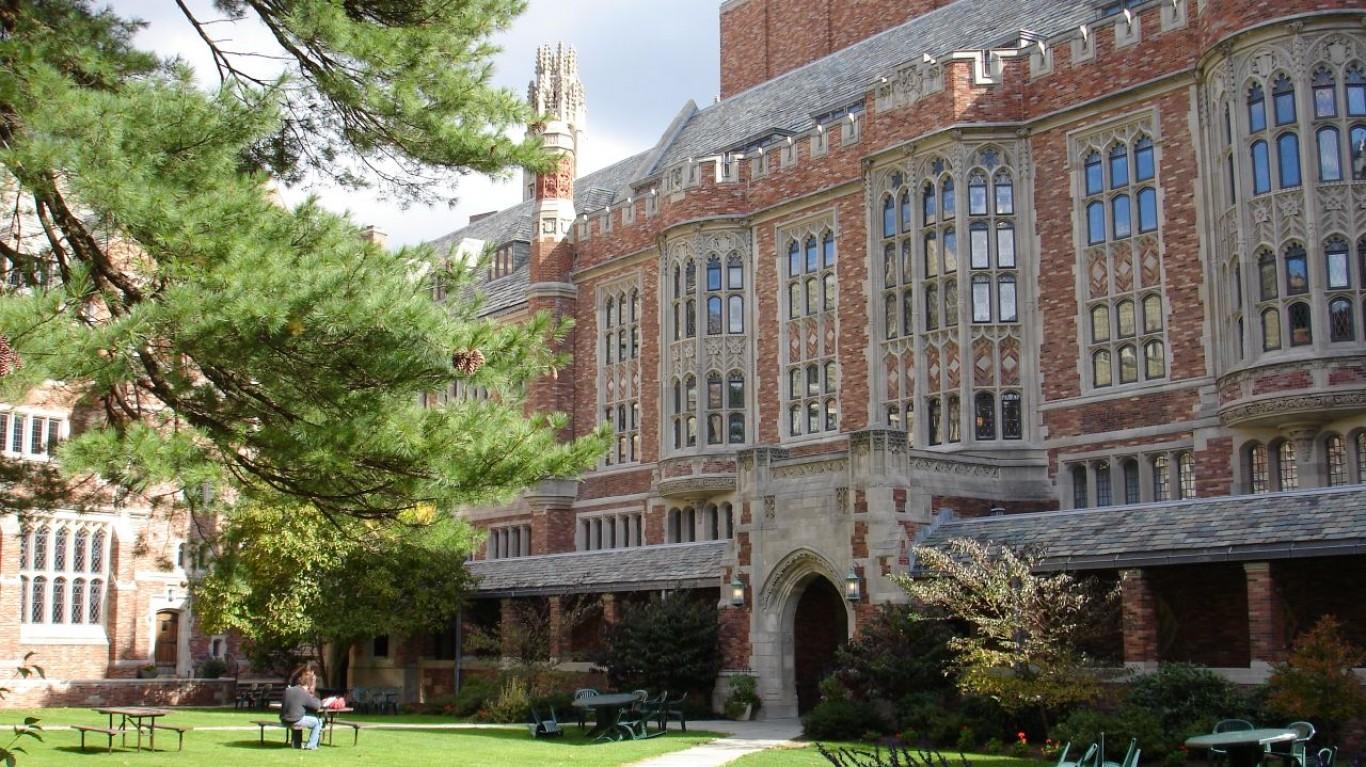 Yale Law School Courtyard by stepnout