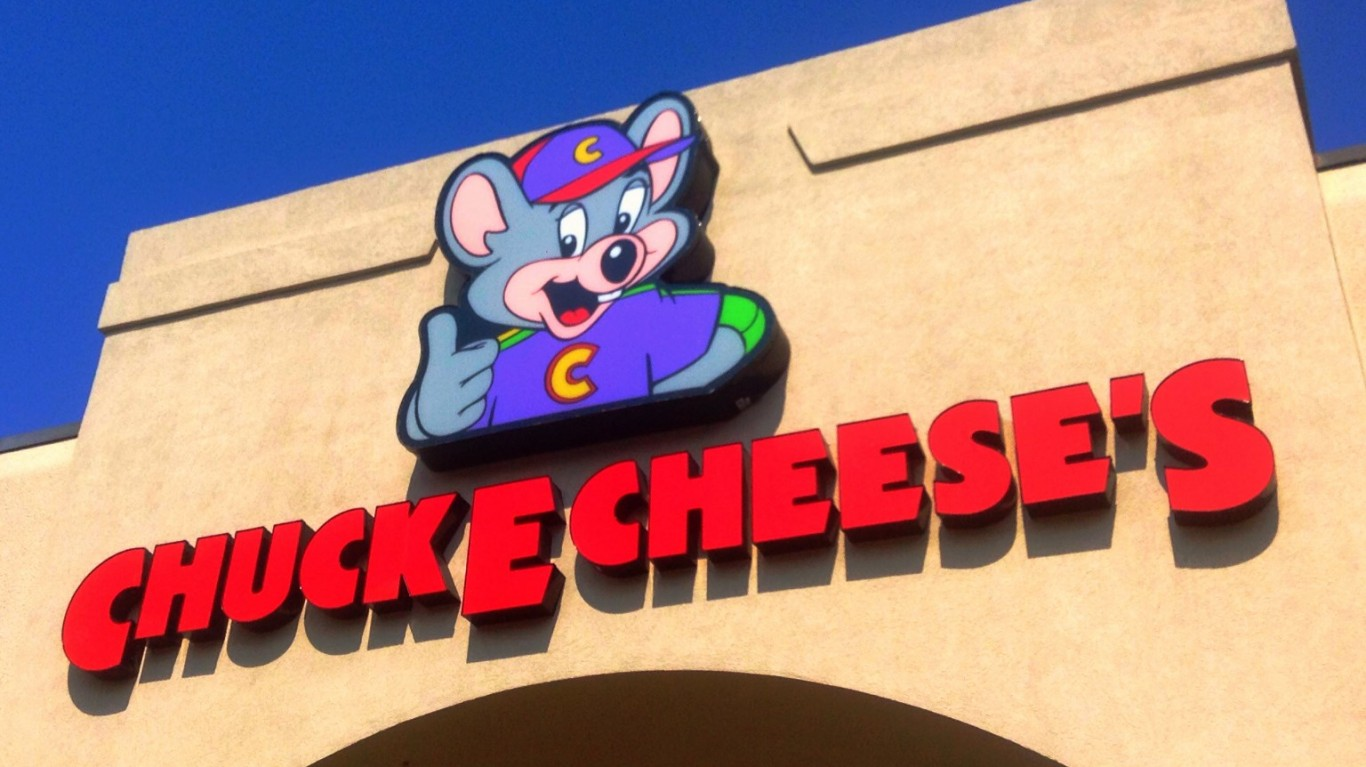 Chuck E Cheese's by Mike Mozart