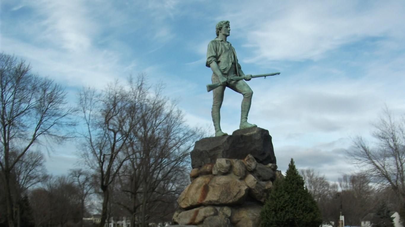 Lexington, Massachusetts by Doug Kerr