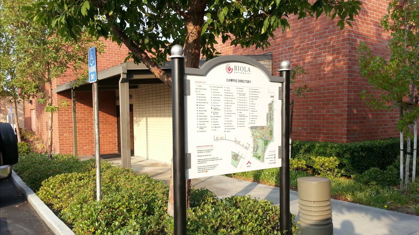 Biola University pedestrian di... by Big City Signs