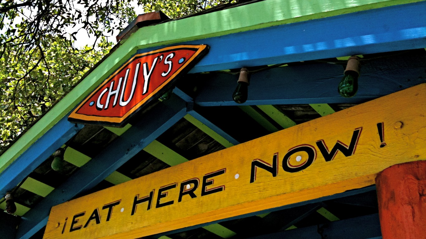 Chuy's Eat Here Now! by JD Hancock