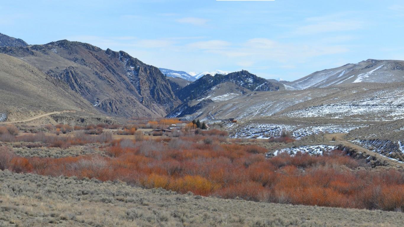 Morgan Creek, Custer County, I... by BLMIdaho