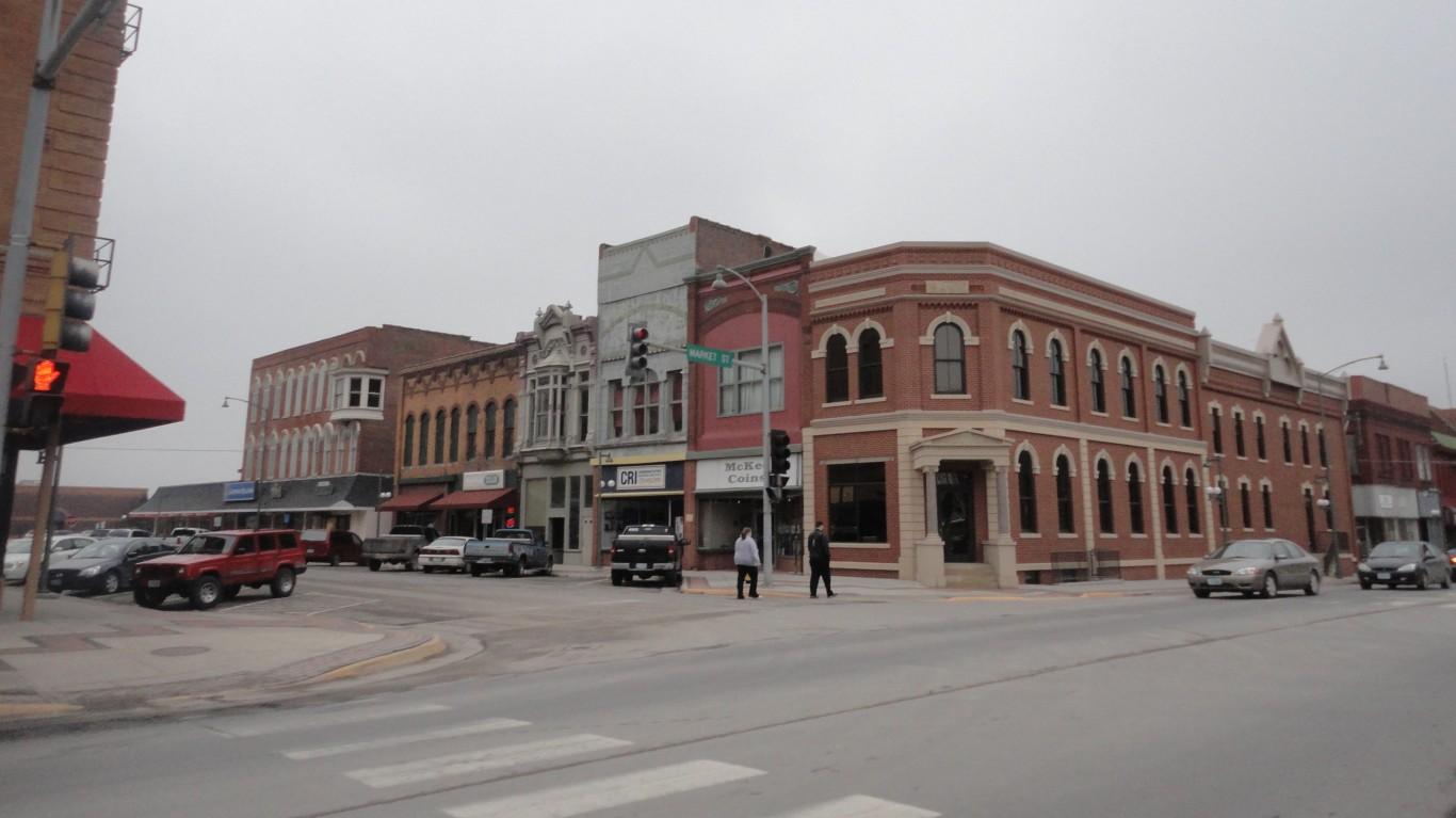 Oskaloosa, Iowa by Paul Sableman