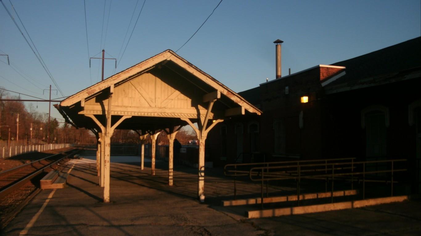 Coatesville Station by Adam Moss