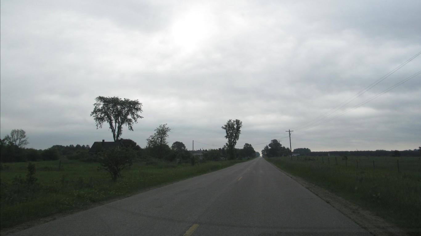 Mackinac County Route H57 - Mi... by Doug Kerr