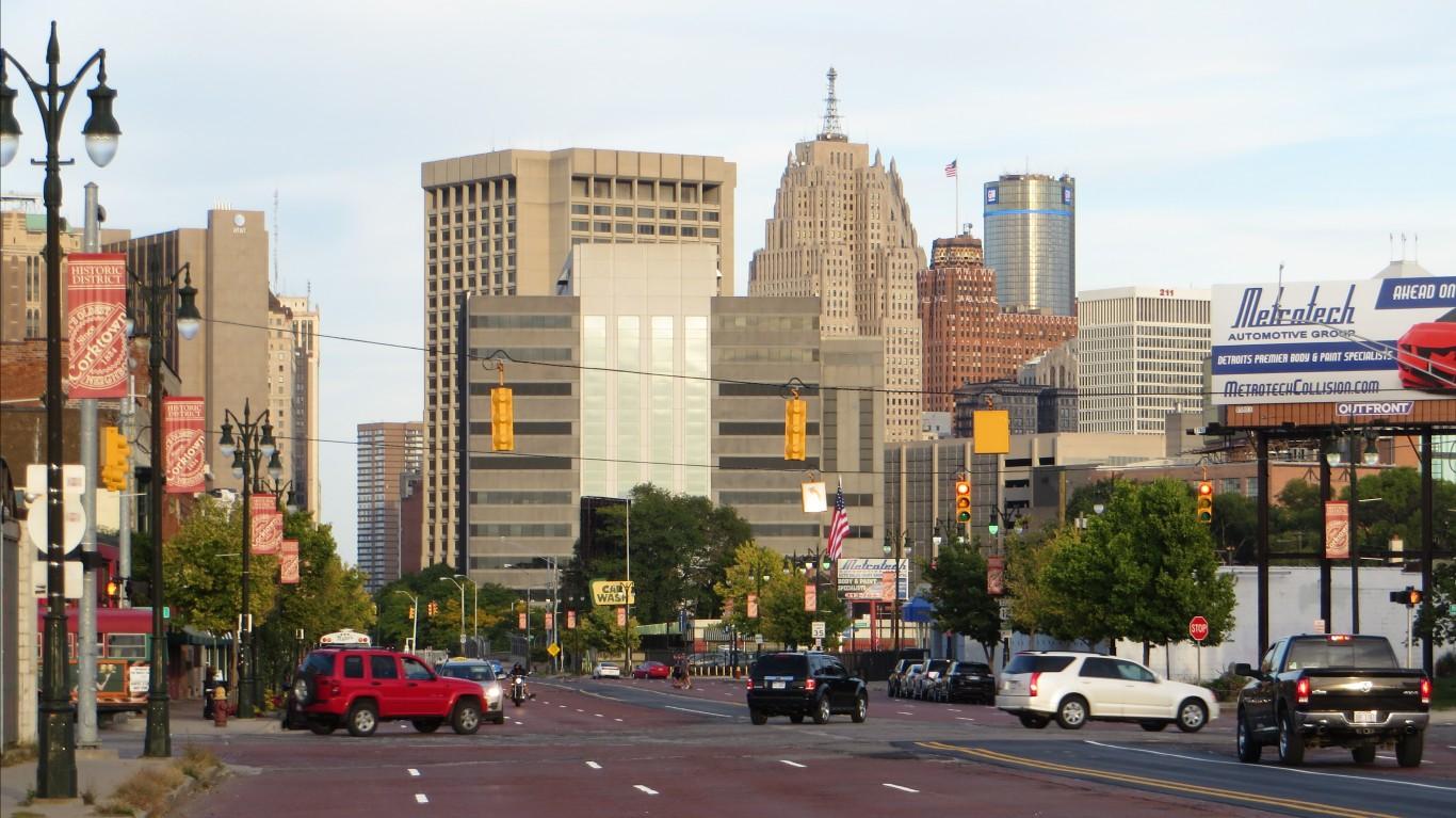 Corktown, Downtown Detroit, Mi... by Ken Lund