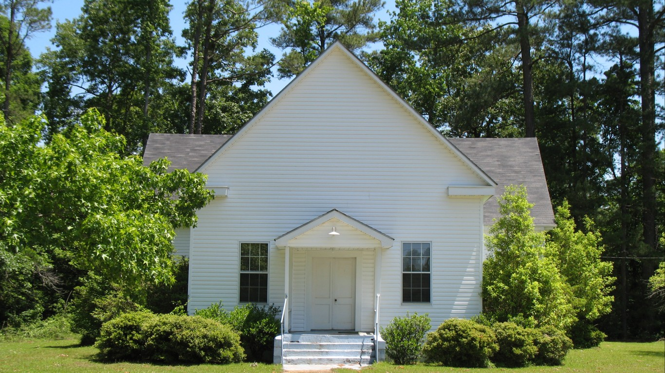 Salem Methodist Church by NatalieMaynor