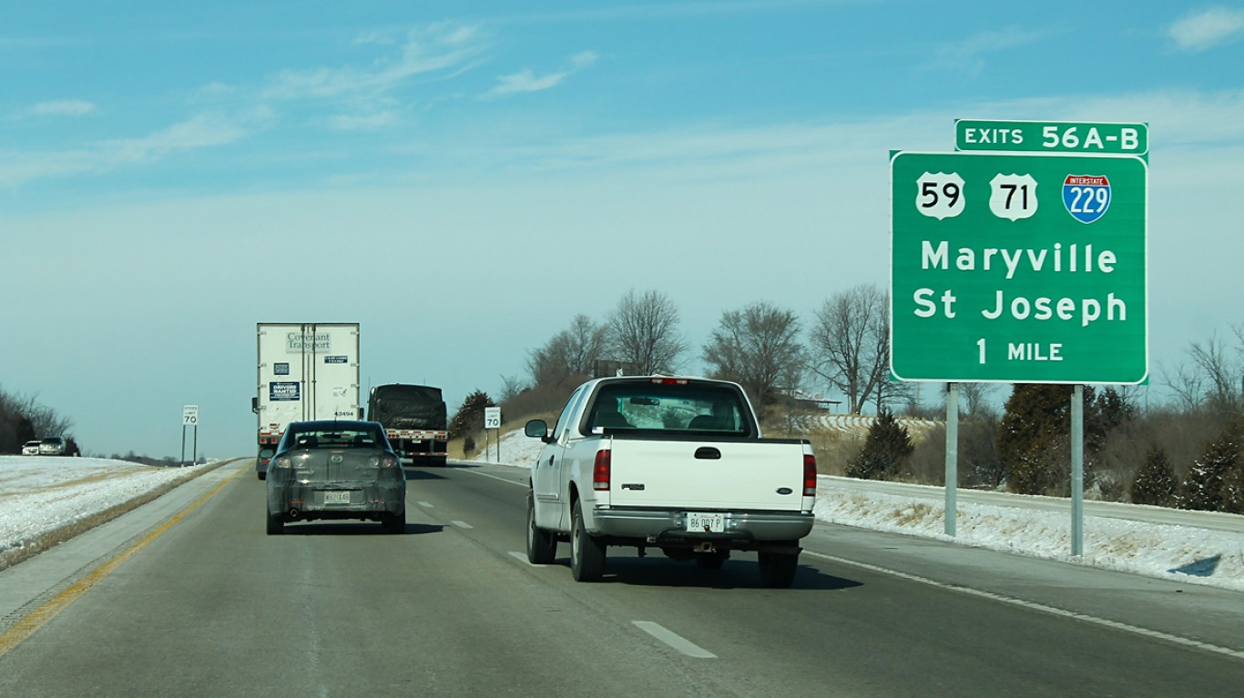 I-29 North - Exit 56AB - US59 ... by formulanone