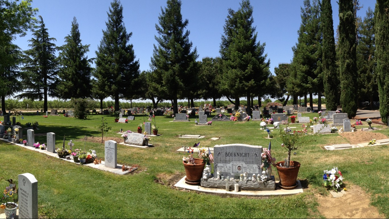 264/365 ~ Winton Cemetary Pano... by ray_explores
