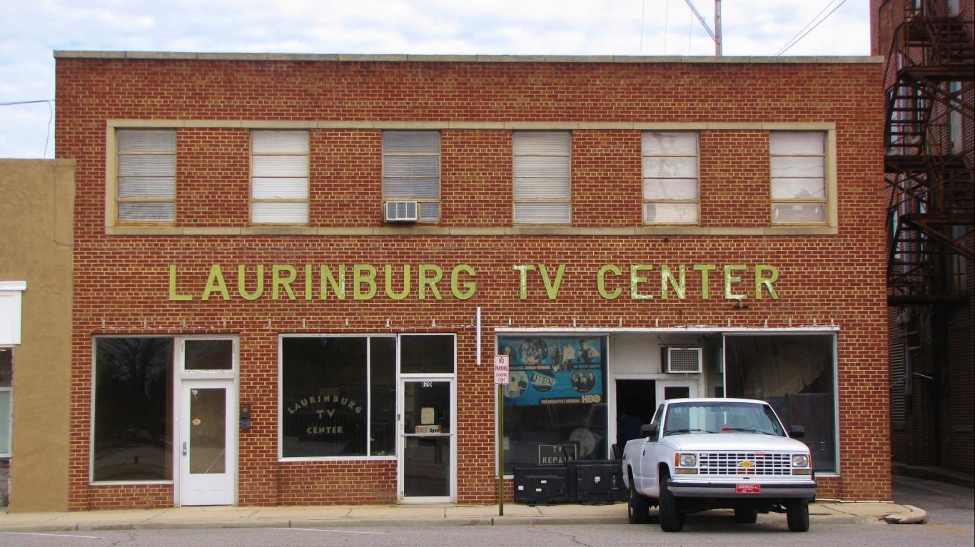 Laurinburg TV Center by Gerry Dincher