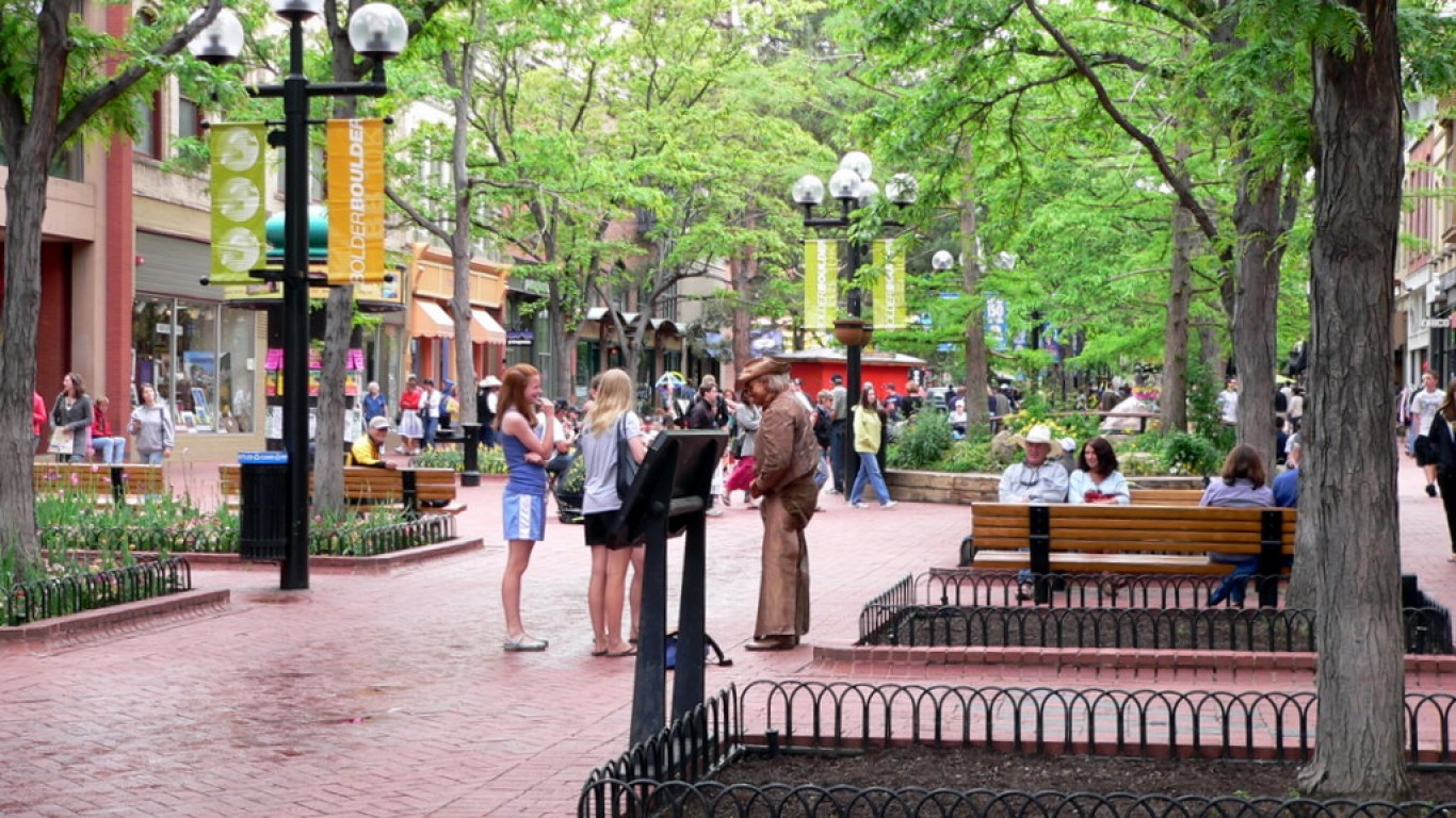 Pearl Street Mall -- Boulder, ... by Lee Coursey