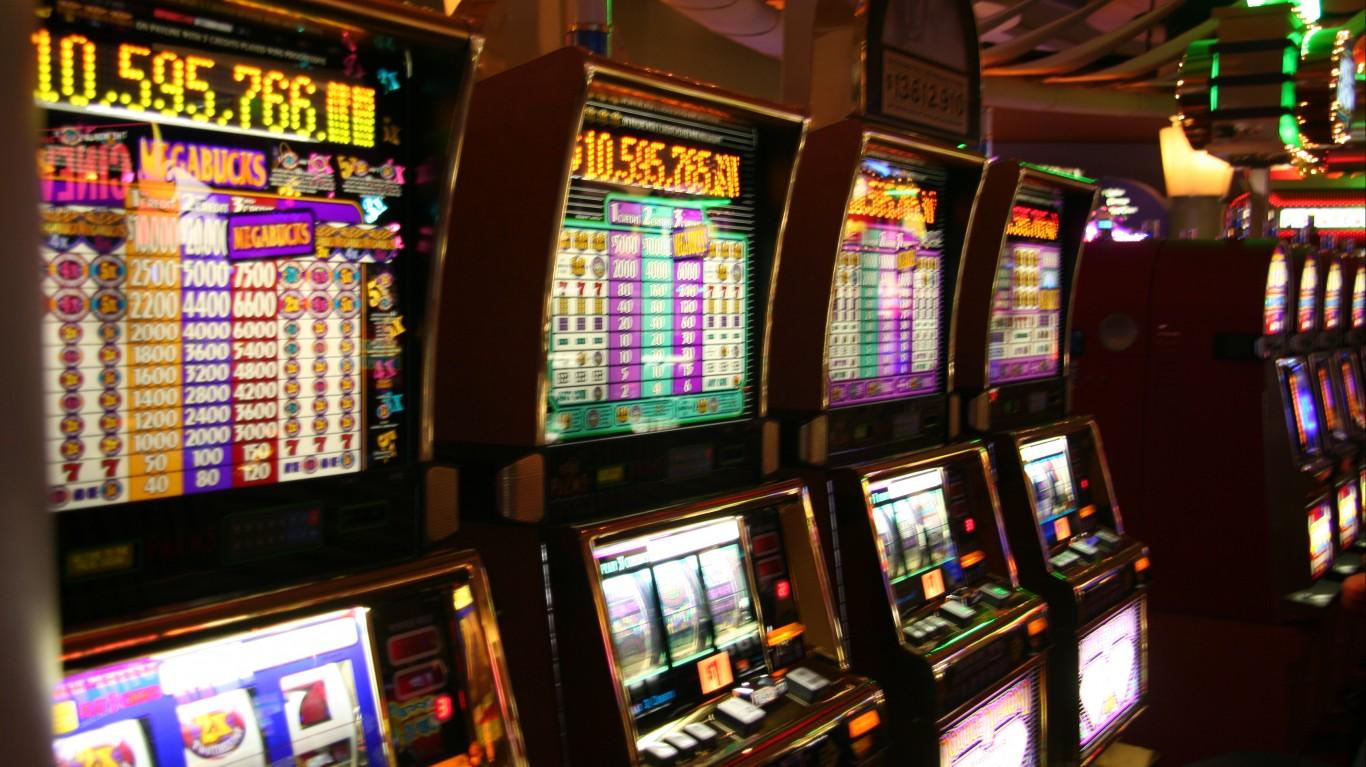Online casino floor