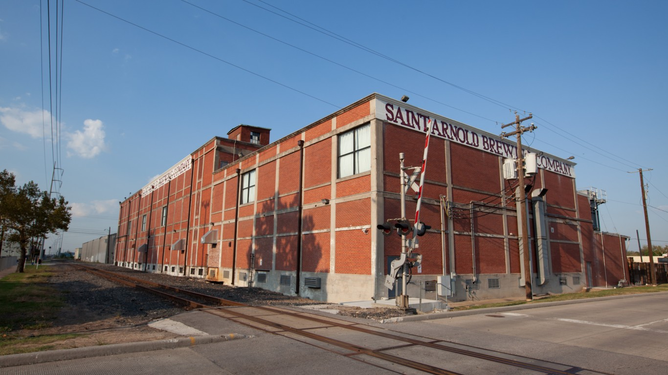 Saint Arnold Brewing Company by Ed Schipul
