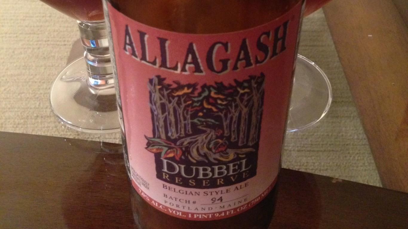 Allagash Brewing Co. Dubbel Re... by Adam Barhan