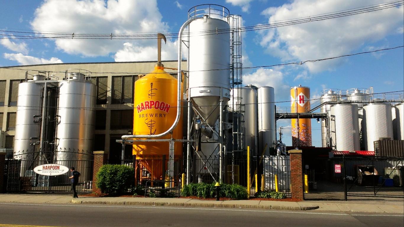 Harpoon Brewery by Henry Zbyszynski