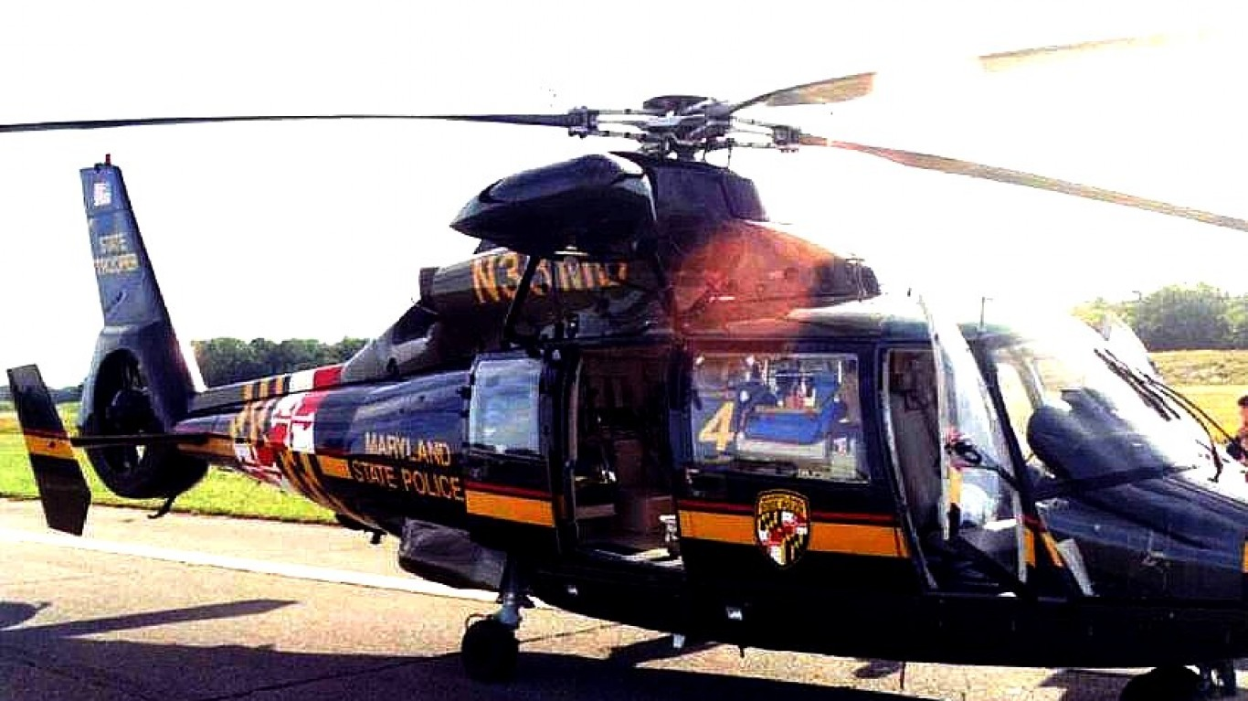 Maryland State Police Eurocopt... by Lee Cannon