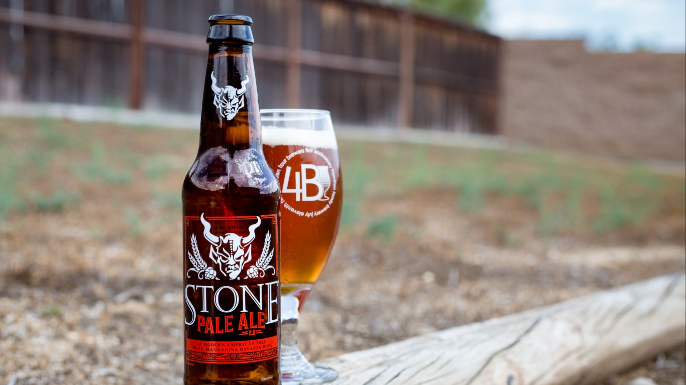 Stone Brewing Co. - Pale Ale 2... by Four Brewers