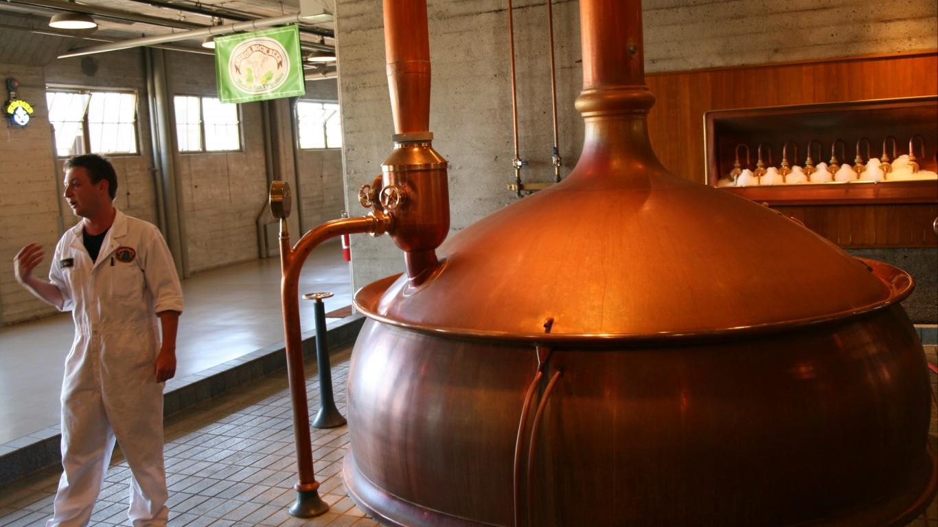 Anchor Brewing Co tour by Bernt Rostad