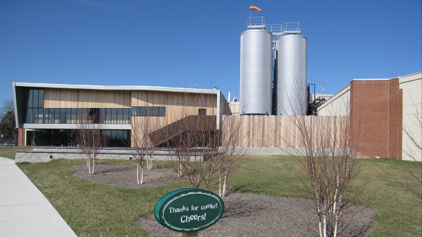 The Dogfish Head Brewery by Bernt Rostad