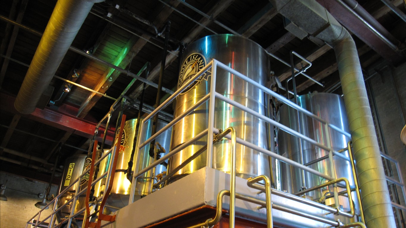 Goose Island Brewery tour by Bernt Rostad