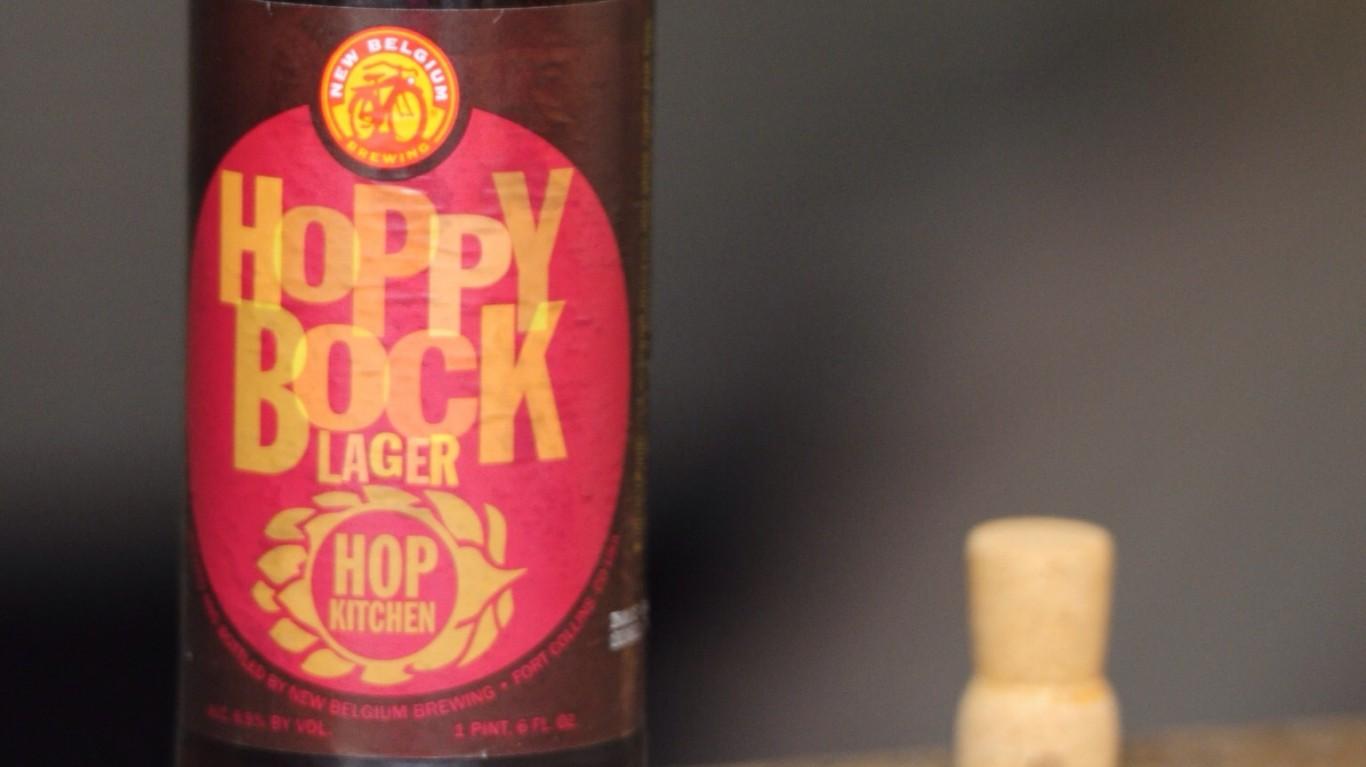 New Belgium Brewing Co. Hoppy ... by Adam Barhan
