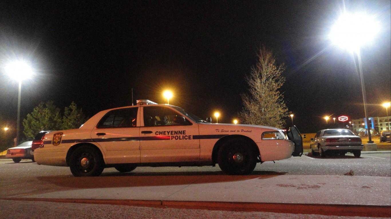 Cheyenne Police by Paul Sableman