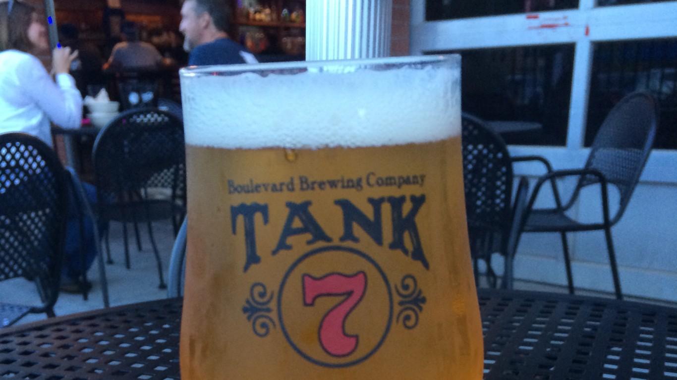 Boulevard Brewing Co. Tank 7 by Celeste Lindell